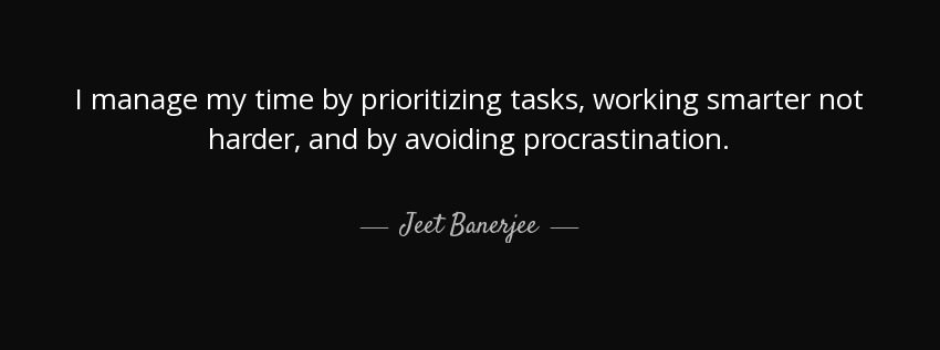 Time Management Tips # 4