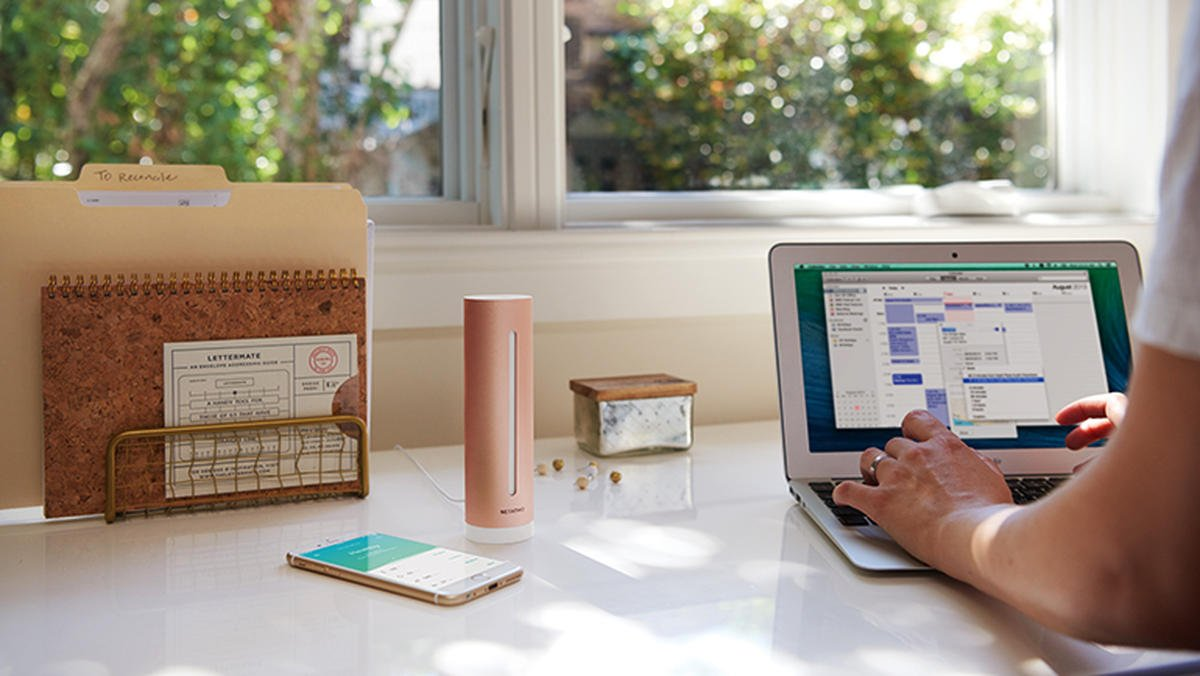 Image result for netatmo healthy home coach
