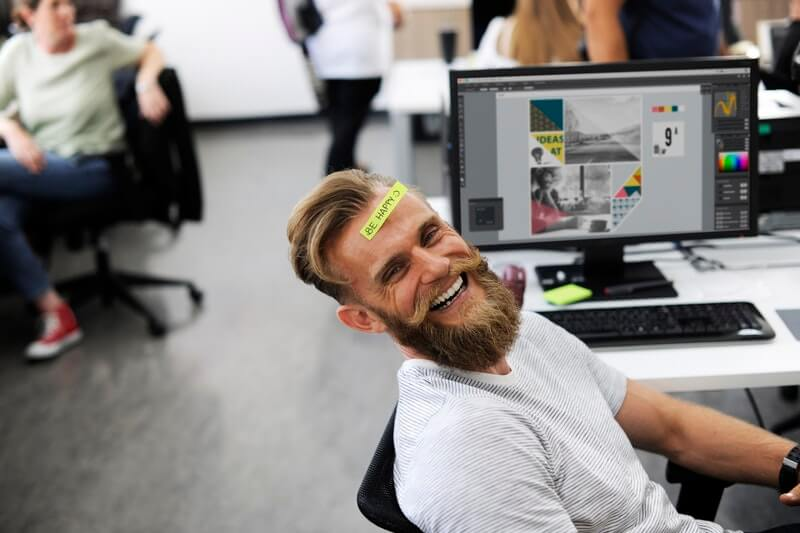 Image result for relaxed employe