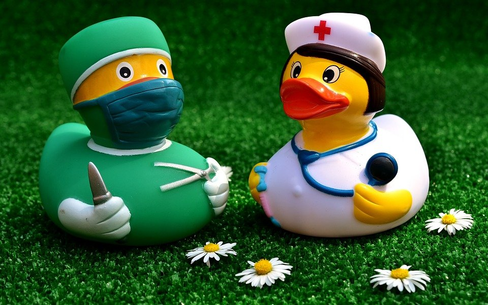 Surgeon, Operation, Rubber Duck, Nurse, Funny, Cute