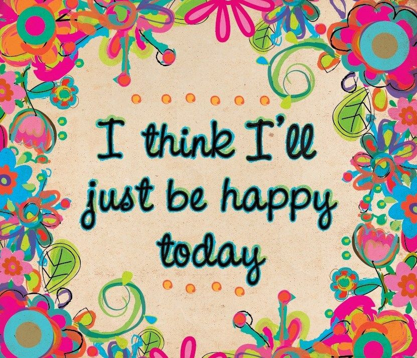 new year resolutions: I will choose to be happy!