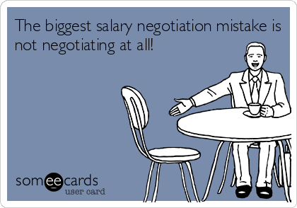 Image result for negotiate salary memes