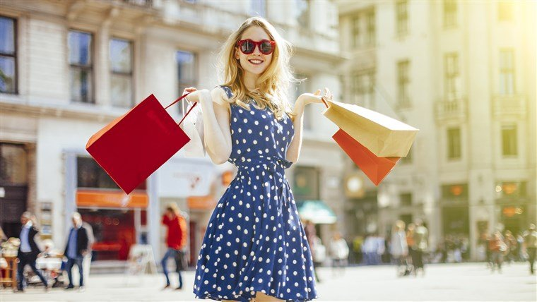 Image result for woman shopping